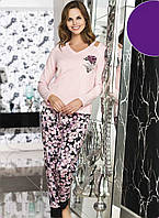 Женская пижама Shirly 21135, костюм домашний с брюками