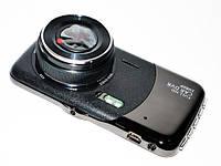 Видеорегистратор 2 камеры, FULL HD, металл