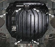 Защита двигателя Hyundai Elantra (2000-2006) 1.6 /2.0 Полигон-Авто