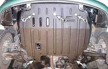 Защита двигателя Hyundai Getz (c 2002--) 1.1 / 1.3 /1.4 /1.6 Полигон-Авто