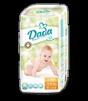 Подгузники (Дада) Dada extra soft 3 (midi) 4-9 кг