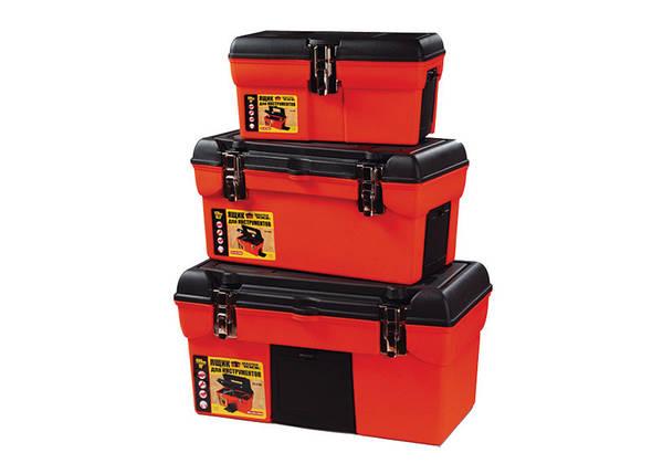 Ящики для инструмента комплект 3шт. мет.замки (79-2103/2105/2106) Mastertool 79-2002, фото 2