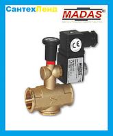 Электромагнитный клапан нормально открытый MADAS M16/RMO N.A. DN15 (500mbar, 66x109, 230В)