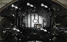 Защита двигателя Hyundai I30 (с 2007--) Полигон-Авто