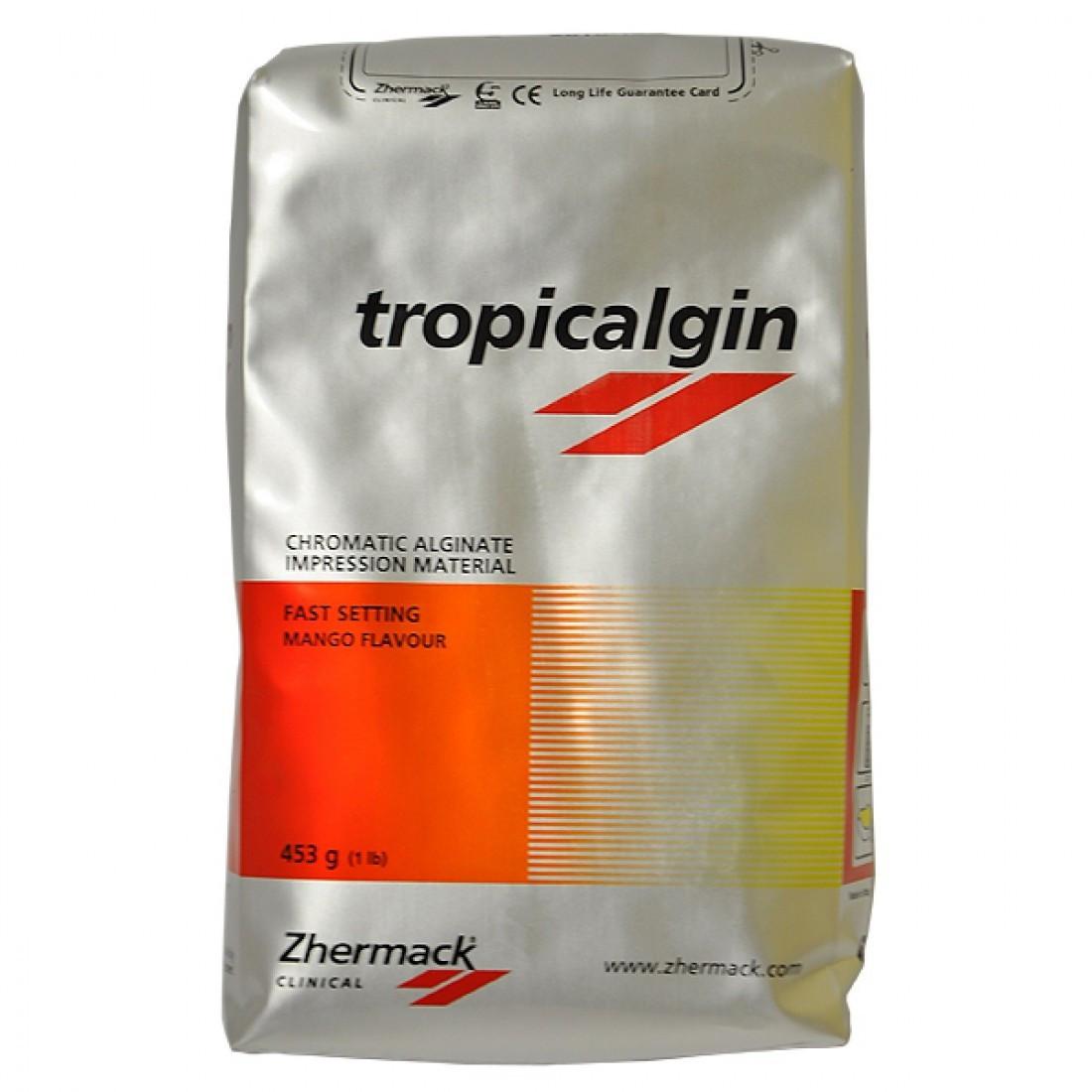 Tropicalgin (Тропикалгин, Тропикальгин, Тропікальгін) альгинатная оттискная масса, изменяет цвет, 453г NaviStom