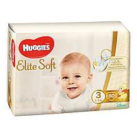 Huggies Elite Soft Хаггис Элит Софт р.3 (5-9кг) 80шт.
