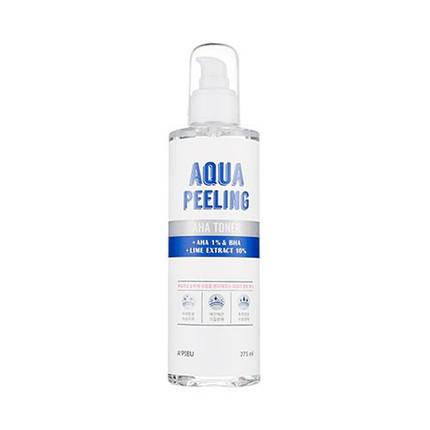 Пилинг-тонер с AHA-кислотами A'PIEU Aqua Peeling Aha Toner (275 мл), фото 2