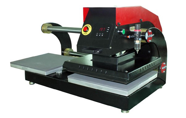 Термопресс пневматический планшетный двойной APDS-15
