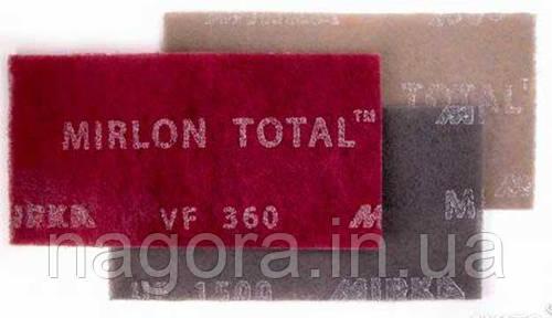 Шлифовальный войлок Mirlon Total 115х230 мм, MF 2500, бежевый