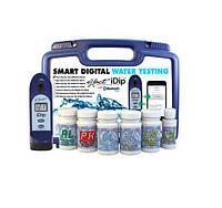 Фотометр Exact iDip Smart в наборе. Тестер для бассейна. Анализ воды
