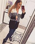 Женский стильный вязаный кардиган LALO (разные цвета), фото 5