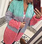 Женский стильный вязаный кардиган LALO (разные цвета), фото 10