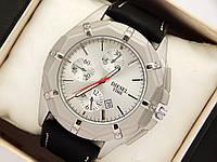 Мужские кварцевые наручные часы Diesel с датой - титановое покрытие