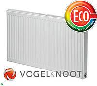 Стальной панельный радиатор Vogel&Noot тип 22 высота 300, бок.
