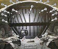 Защита двигателя Infiniti M 25 (с 2010--) Полигон-Авто