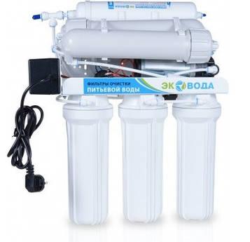 Система обратного осмоса ЭКО вода RO-7P 300GPD