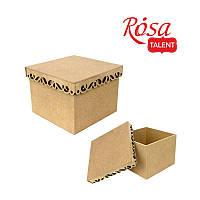 Коробка с фигурной крышкой 2, 20*20*15 см, МДФ, Rosa Talent, 2862206