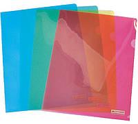 Папка-уголок А4, цвет ассорти, Jobmax, Buromax, BM.3853-99, 385399