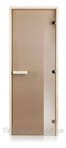 Двери для бани Intercom (бронза 70х190)