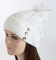 Женские вязаные шапки Artbelleza оптом в Украине. Сравнить цены ... 439323467ef8d