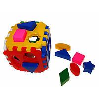 "Куб-сортер ""Умный малыш"" Логика-Комби, 46 элементов, ""Технокомп"" 2476"