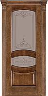Межкомнатные двери Terminus Дуб Браун модель 50