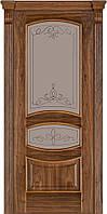 Классические межкомнатные двери Американский Орех модель 50