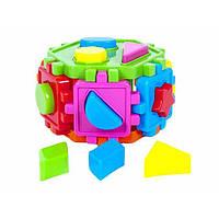 """Куб-сортер, геометр. фигуры, """"Киндер-Вэй"""" 50-103"""
