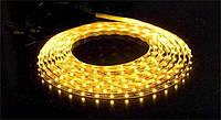 Лента светодиодная 3528 (60 диод./м ; 4.8w/м) Желтый свет
