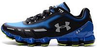 Мужские спортивные кроссовки Under Armour Scorpio Blue Black (Андер Армор Скорпио) синие/черные