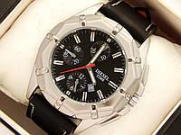 Мужские кварцевые наручные часы Diesel с датой - титановое покрытие, фото 1