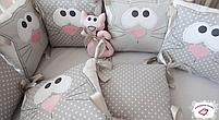 Бортики для круглой и овальной кроватки, фото 3