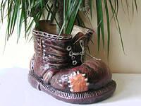 """Ботинок """"Кашпо цветочное"""" Размер: 18 х 29 см"""