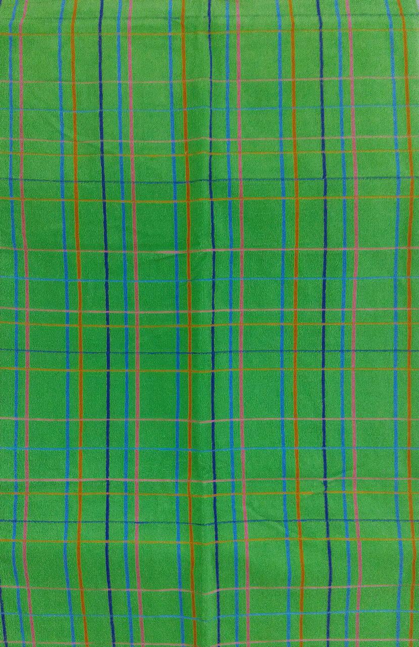 Рушник махровий 68*140 ЛЮКС зелений 100% бавовни, арт. ЛЮКС (шт)