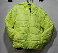 Куртка детская Columbia салатовая