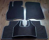 Коврики в салон, модельные, материал EVA черные (серый рант)