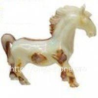 Лошадь из натуральные камень , фото 1
