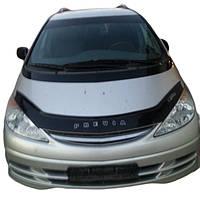 Стекло дверное переднее L на Toyota Previa 2003 г. БУ