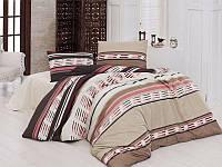 Полуторный комплект постельного белья First Choice Сolin Кahve