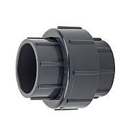 Муфта ПВХ Aquaviva разборная клей-клей 75 мм