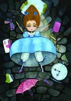 """Почтовая открытка """"Алиса"""""""