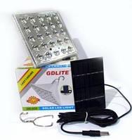 Светодиодная лампа с солнечной панелью GD-025