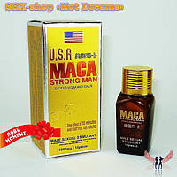 Препарат для потенции Мака, USA Maca Strong Man обладает высокой продолжительностью, фото 1