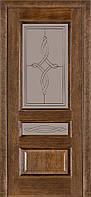 Межкомнатные двери Terminus Caro модель 53 Дуб Браун