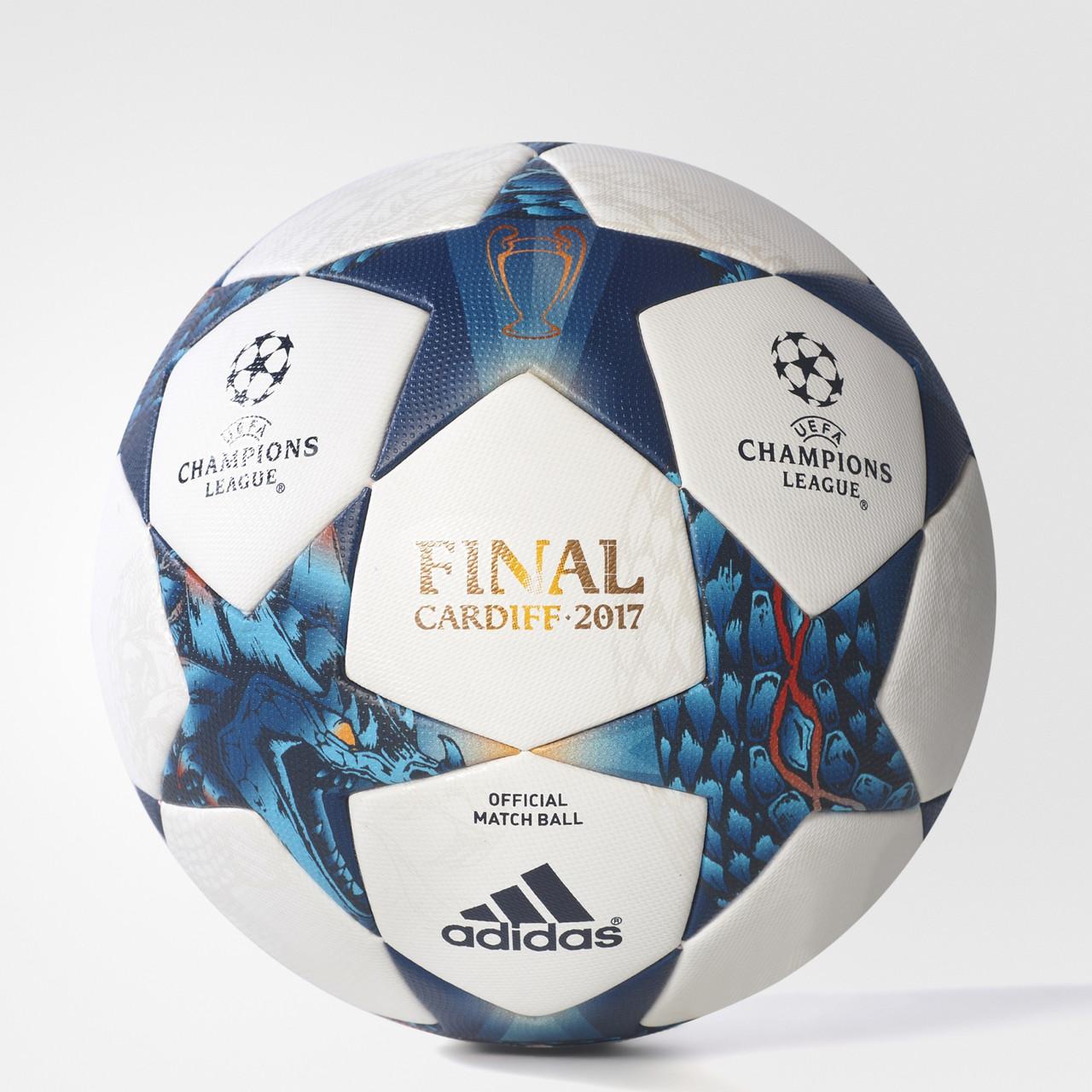 Футбольный мяч Лиги чемпионов Adidas FINALE CDF OMB AZ5200 3851f6b46485a