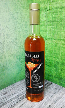 Сироп барный тм «Maribell» Мандарин, фото 2