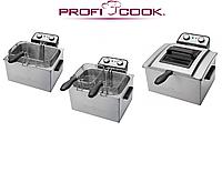 Фритюрница Profi Cook PC-FR  3000 Вт Германия Оригинал 3 корзины