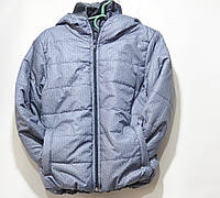 Куртка детская светло серая