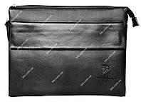 Мужская сумка для документов формат А4 черная 8809-5