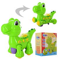 Музыкальная игрушка Веселый Динозаврик. Детская музыкальная игрушка.Детская развивающая игрушка.